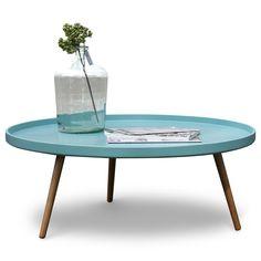 Retro salontafel rond Radius Makkii