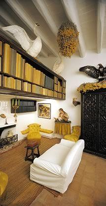 Salvador Dali's house in cadaqués, spain   via Creatives in their Spaces ~ Cityhaüs Design