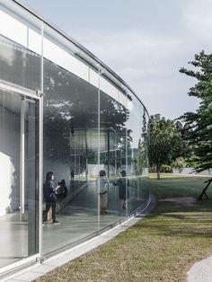 21st Century Museum by SANAA Kanazawa, Japan