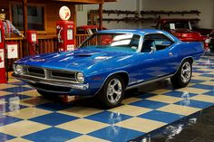 1970 Plymouth Cuda. Awesome American Muscle!