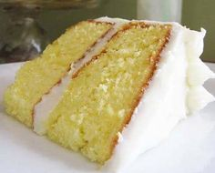 Lemonade Cake with Lemon Cream Cheese Frosting(Directions Below)