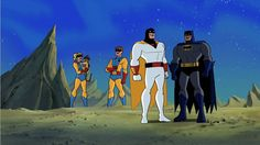 Space Ghost and Batman. The best of crossovers.