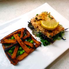 Healthy Fish-and-Chips and more of the best healthy fish and chips recipes on MyNaturalFamily.com #fish #recipe