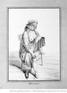 La curieuse : [dessin] Jean-Jacques Lequeu (1757–1826)