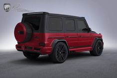 Lumma CLR - brightly colored legend: The performance version of the new G-Class, the Mercedes-A Mercedes Amg, Mercedes G Wagon, Mercedes Benz G Class, Cl 500, Red Lamborghini, Merc Benz, New Sports Cars, Suv Cars, Weird Cars