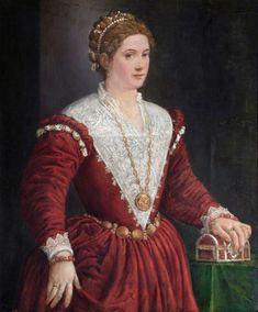 16th century Italian (Venetian) School - Portrait of an Unknown Lady