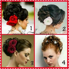 Spanish Style Updo Hairstyle Possibilities