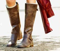 Cute fall boots.