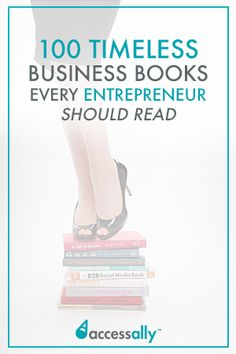 100 Timeless Business Books Every Creative Entrepreneur Will Benefit From. This is the list I wish I had when I started my business! Best Books To Read, New Books, Good Books, Book Club Books, Book Lists, Non Fiction Novels, Lets Do It, Best Inspirational Quotes, Any Book