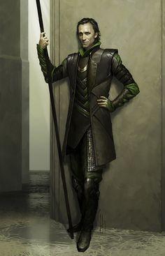 Charlie Wen Loki concept art