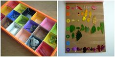 """Go on a """"color walk"""" with your kids--great idea to get them outside and exploring nature."""