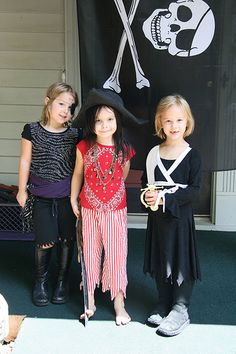 pirate party costume inspiration