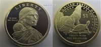 Steve's Rare Coins has the Proof Native American Sacagawea Dollar in stock and ready to ship in protective flip packaging! Sacagawea Dollar, American Dollar, Wolf Howling, Rare Coins, Nativity, Native American, Symbols, Products, Christmas Nativity