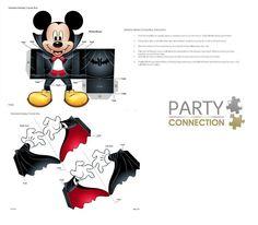 Vampire Mickey Mouse Candy Box  DIY