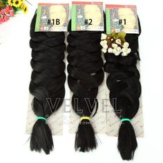 "30PCS/LOT+DHL Free Shipping Expression Braiding Hair 82"" 165G Various Colors Various Colors In Stocks X-pression Braiding Hair"