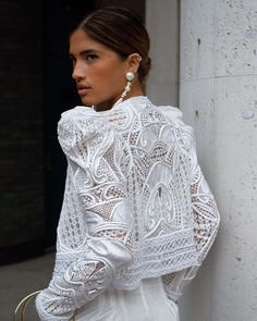 Swans Style is the top online fashion store for women. White Outfits, Classy Outfits, Trendy Outfits, Fashionable Outfits, Work Outfits, White Fashion, Boho Fashion, Womens Fashion, Fashion Trends