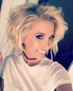 "42.6k Likes, 243 Comments - Savannah Faith Chrisley (@savannahchrisley) on Instagram: ""Today's gonna be a good one...😊 and I'm lovin the choker @marykathryn_design and LOVING MY HAIR…"""