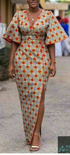 ankara mode Ankara Styles For Beautiful Ladies .Ankara Styles For Beautiful Ladies African Inspired Fashion, Latest African Fashion Dresses, African Dresses For Women, African Print Dresses, African Print Fashion, Africa Fashion, African Attire, African Wear, Fashion Prints