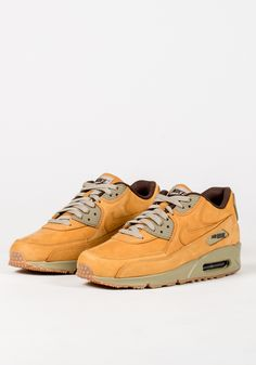new products 70d15 dd601 Nike Air Max 1 Leather Premium  Wheat  (Bronze   Baroque Brown)   Sneakers    Pinterest   Air max, Leather and Brown