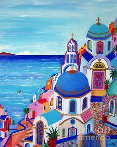 Go to Santorini now