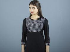 Stretchkleider - NARA bequeme Jerseykleid mit Schleife - ein Designerstück von Berlinerfashion bei DaWanda