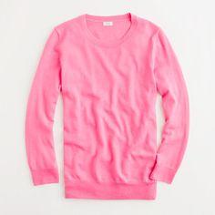 Factory merino classic crewneck pullover -- pink!!