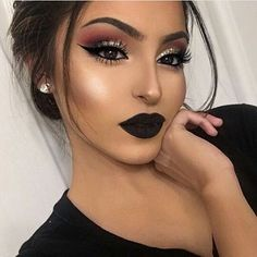 71 Best Makeup For Black Dress images