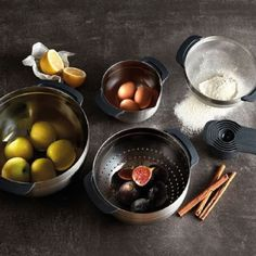 Joseph Joseph 9 Stainless Steel Compact Nesting Mixing Bowl Set Measuring Tools Sieve Colander Food Prep Dishwasher Safe NonSlip Silver *** Be sure to check out this awesome product-affiliate link. Kitchen Sets, Kitchen Cupboards, Open Kitchen, Disposable Plastic Plates, Stainless Steel Bowl, Joseph Joseph, Nesting Bowls, Stylish Kitchen, Kintsugi