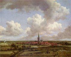 Landschaftsmalerei barock  Gerard ter Borch d. J. Knabe floht seinen Hund. 2. Drittel 17. Jh ...