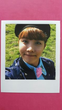 BTS J-HOPE Official POLAROID Photocard Special Album YOUNG FOREVER 제이홉