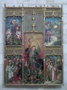 Retable of Saint Michael, Museo Diocesano y Catedralicio, Valladolid, Castile and León, Spain