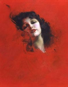 Rolf Armstrong was an American painter of pin-up art