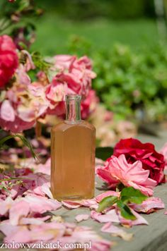 Rose petals face tonic:)