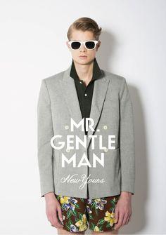 [No.5/48] MR.GENTLEMAN 2013 S/S collection | Fashionsnap.com
