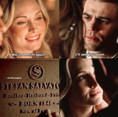 steroline deleted scene from 8x15!! stefan and caroline really did that. #sterolineforever #tvd