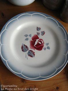 Assiette plate 'Magali'