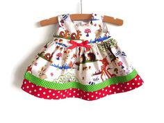 Party dress for baby and little girls by NaturalKidsClothing