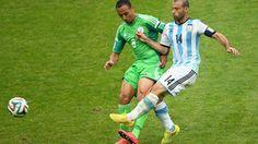 Masherano, uno de las estrellas del partido ante nigeria.