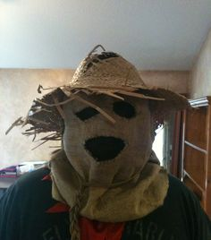 In this Instructable, I'll show you how to make a very cool scarecrow mask. I first got this idea a couple of years ago when I got sick of trying to find a cool costume. It occurred to me that a scarecrow could be very scary if done right and none of the masks available seemed to appeal to me. I wanted something like we see in Batman Begins but also something original that was nothing like the movie or even the character. What I came up with was fairly simple although the...