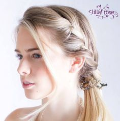 """So pretty and elegant...the """"Enchanting"""" flexi clip from Lilla Rose!"""