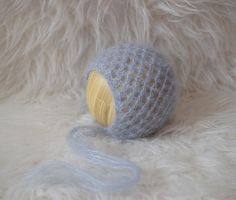 Newborn Bonnet Pattern Mohair Bonnet Pattern Knit от 3PLittleKnits
