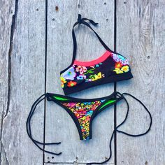 Must haves bec LiFe's A Beach.  . . . . . . . Made it for this trip! Pop of neon n #blooms #surf #beachwear #activelifestyle #boho #retro #ecofriendly #DIY #handmade #wanderlust #clothing All #handmade by yours truly #designer #stylist #bgirl #model for #Jmorcoinc urbanwear #sportswear #TM #fashion #design I wear me to #dance #hiphop #fitness #gym #beach #yoga #workouts #fitnessmotivation #traveler #tulum