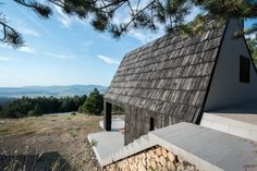 Divcibare Mountain Home par EXE studio, Serbie.