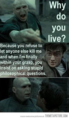 Get it together, Voldemort