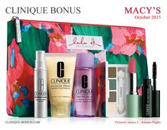 It's live: spend $27 and get this 7pc Clinique gift at Macy's! There are also 2 step up gifts available.