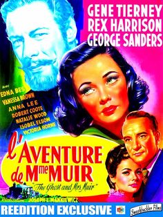 Tiré d'un roman de R.A. Dick, le film L'aventure de Mme Muir a su créer un…
