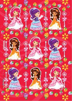 Dale estilo a tus obsequios y crea la más grandiosa fiesta con Fresita y sus amigas Cake Albums, Short Cake, Cute Disney Drawings, Princesa Disney, Dora The Explorer, Cute Disney Wallpaper, Coloring Book Pages, Strawberry Shortcake, Amelia