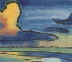 Abend By Emil Nolde