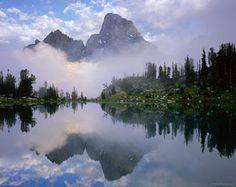 reflection, Grand Teton National Park, Wyoming