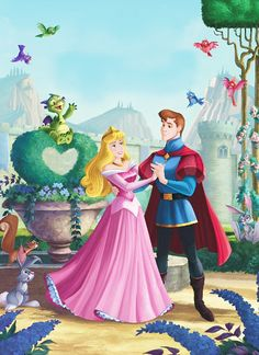 Sleeping Beauty & Prince Phillip